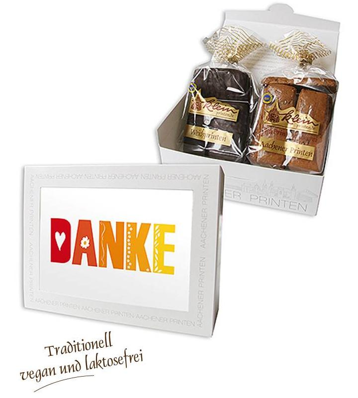 "Stimmungsvolles Aachen Motiv ""Danke"""
