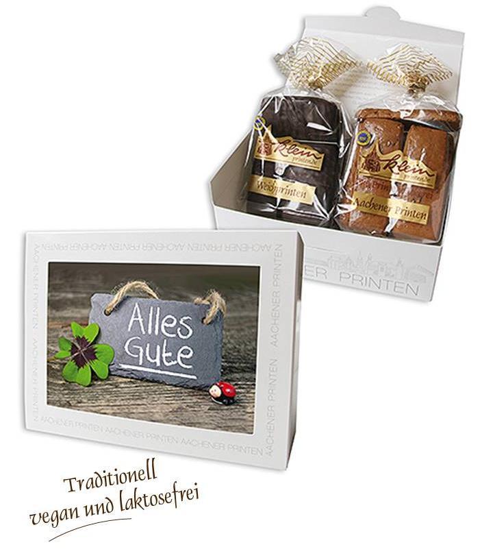 """Stimmungsvolles Aachen Motiv """"Alles Gute"""""""