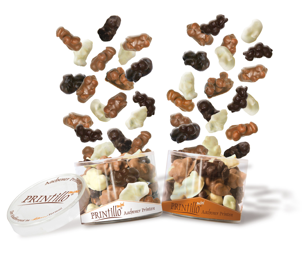PRINtillo® Mini Schoko-Nuss-Mischung
