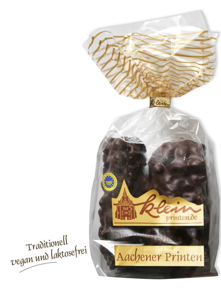 Schokoladen-Nuss-Schnitt-Printen